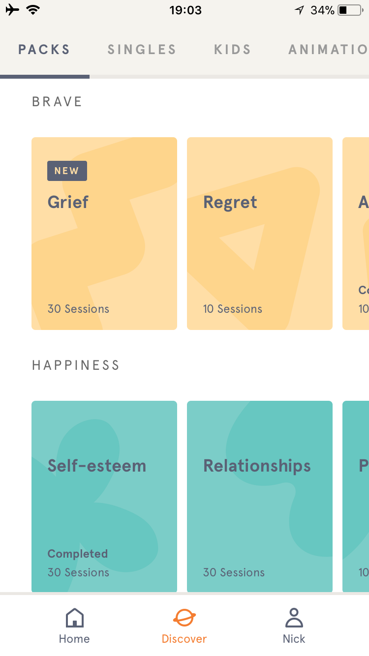 Headspace Meditation Pack