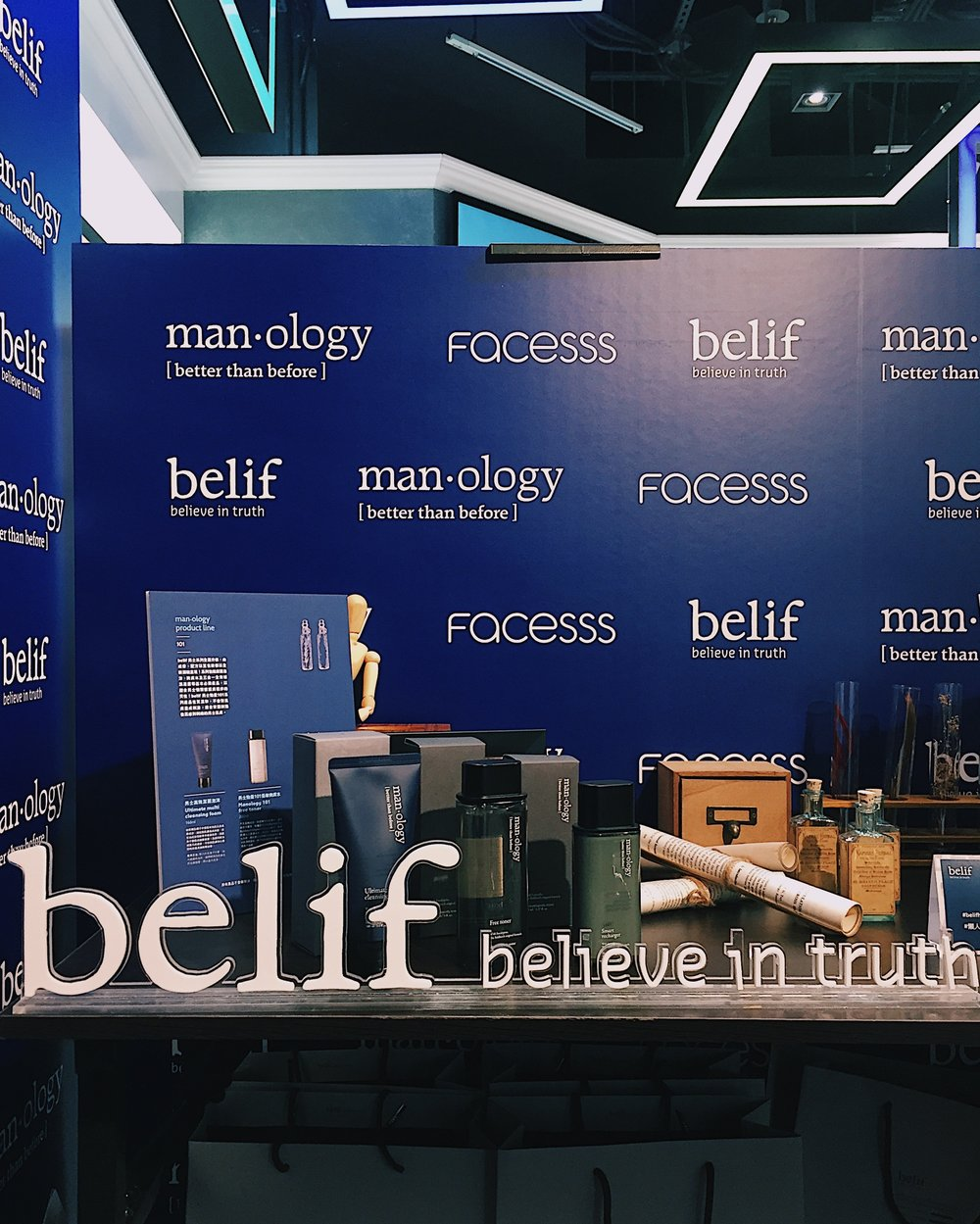 Belif's Manology Launch Day