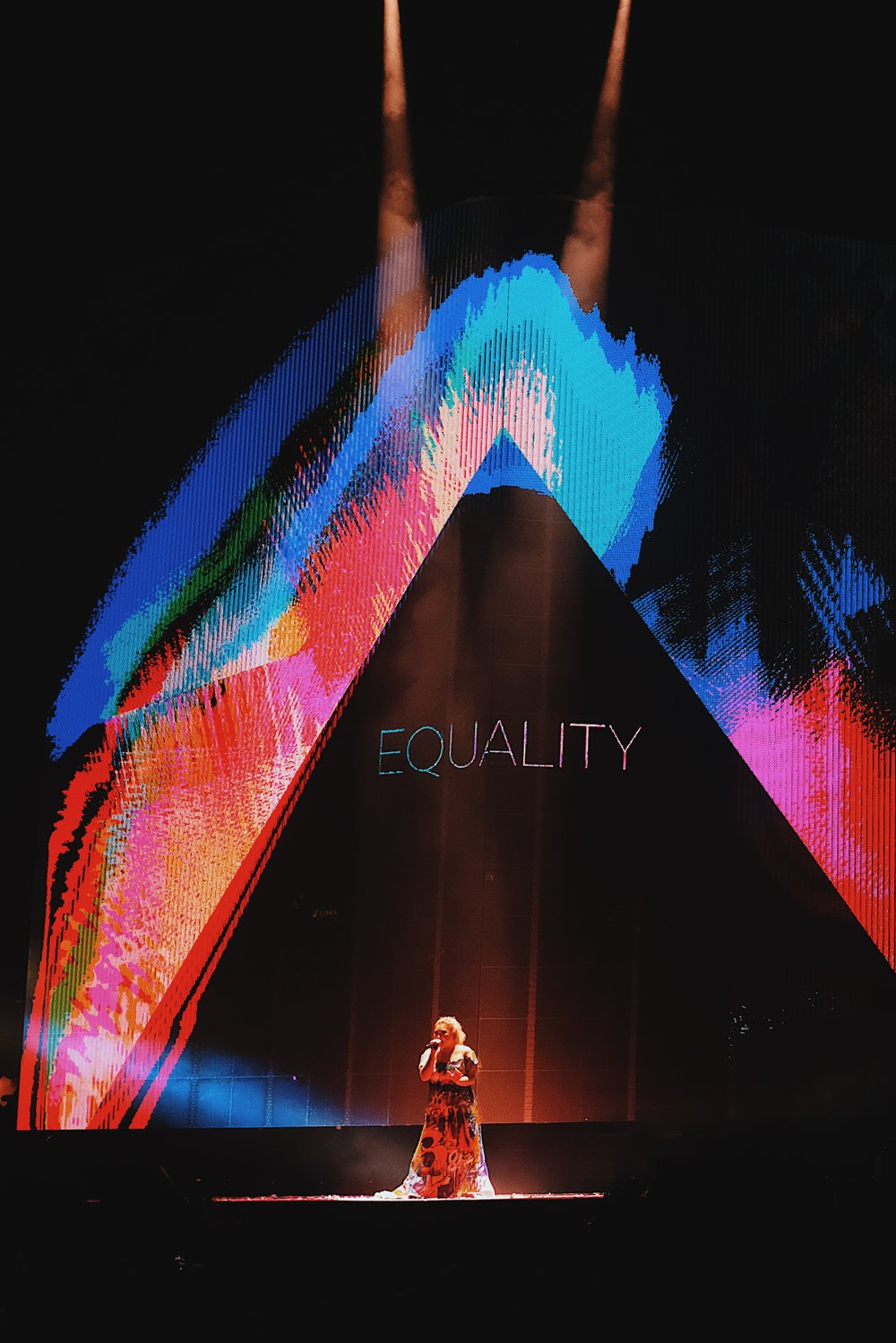 Joyce Cheng Break A Leg 2018 HK - Dark Rainbow and Equality