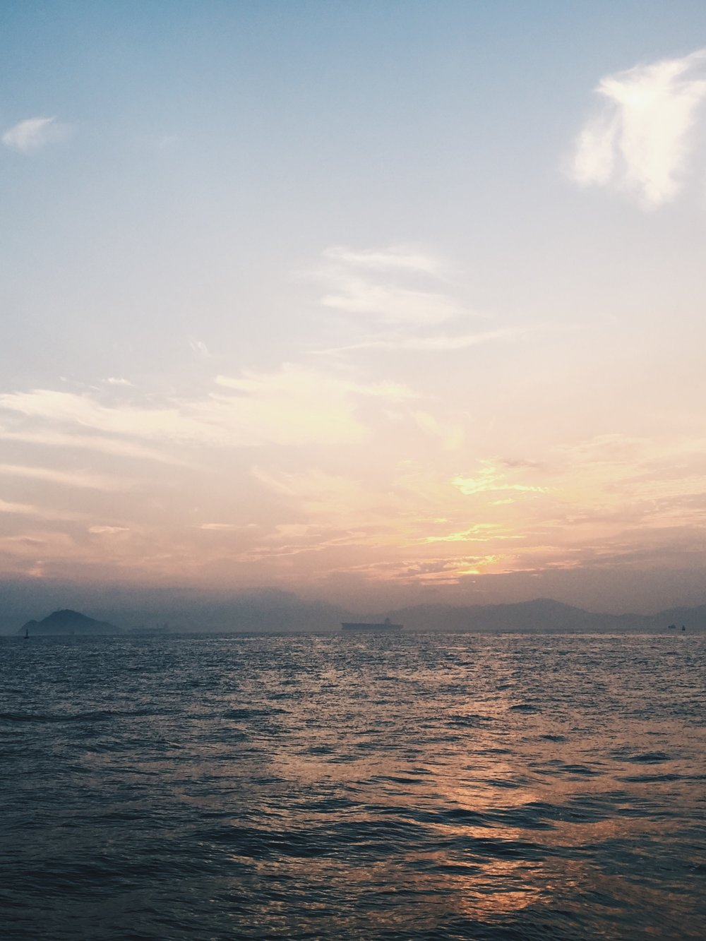 Sunset at Instagram Pier