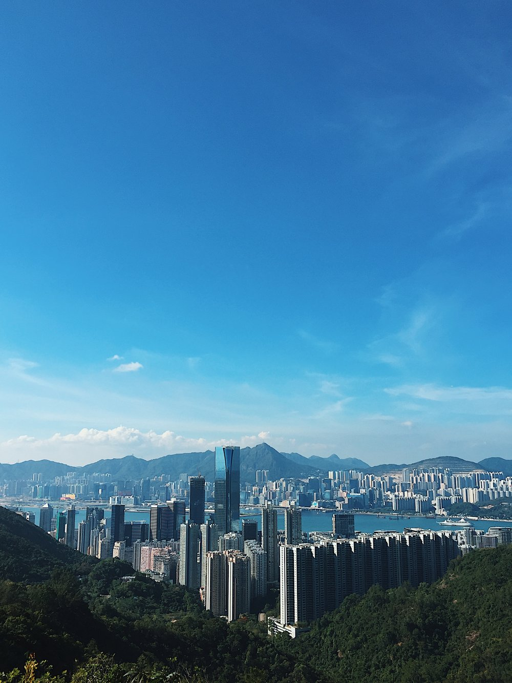 Hiking at Quarry Bay
