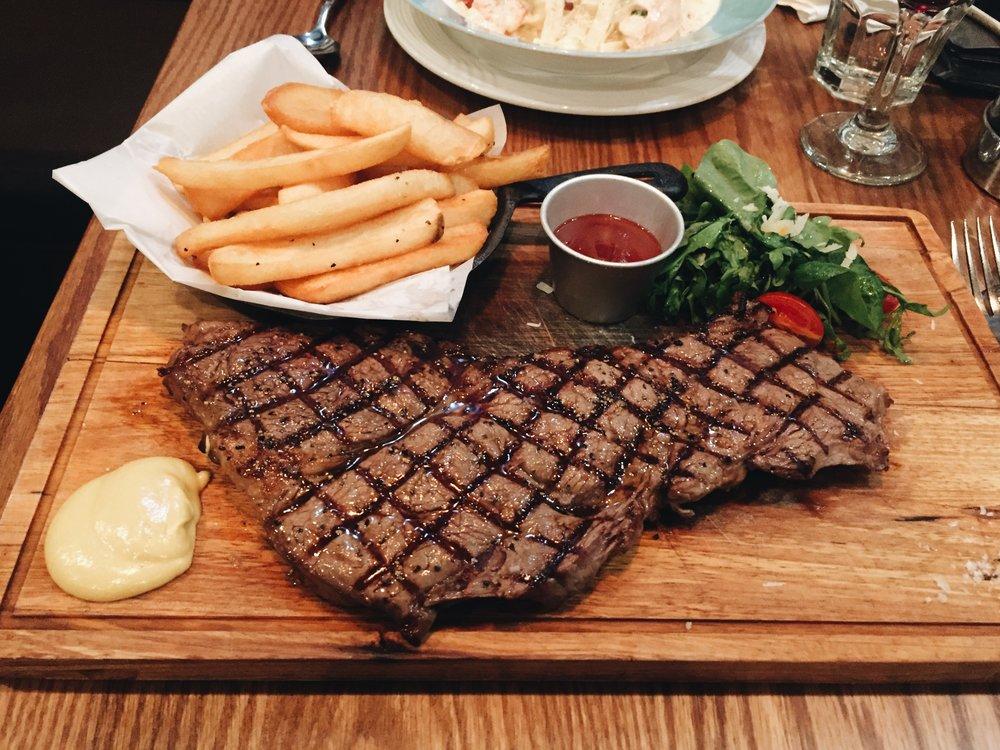 Ollies Special Steak Night