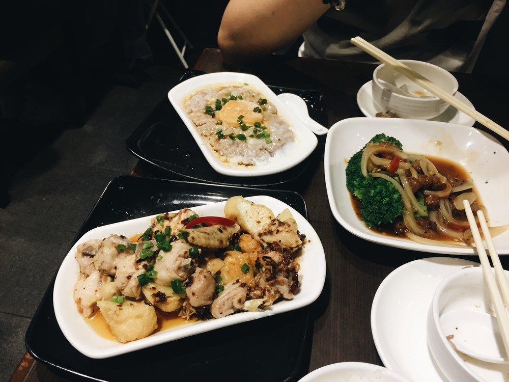 Dinner with Ricci