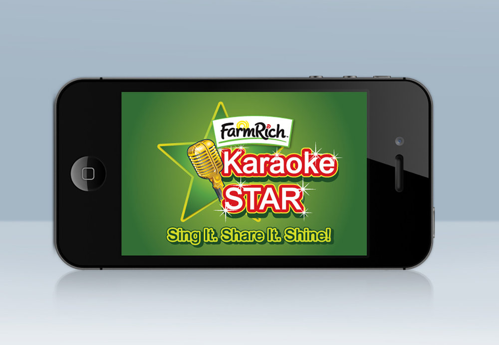 We even created a karaoke app that allowed Farm Rich fans to share their version of the jingle.