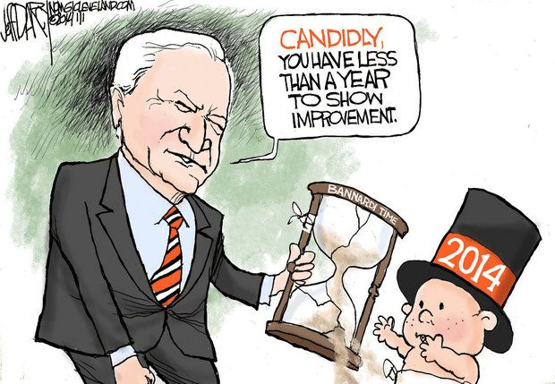 Jeff Darcy cartoon Jimmy Haslam imposes time limits.jpg