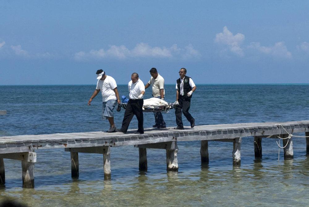 Canadian woman dead along Cancun pier.jpg