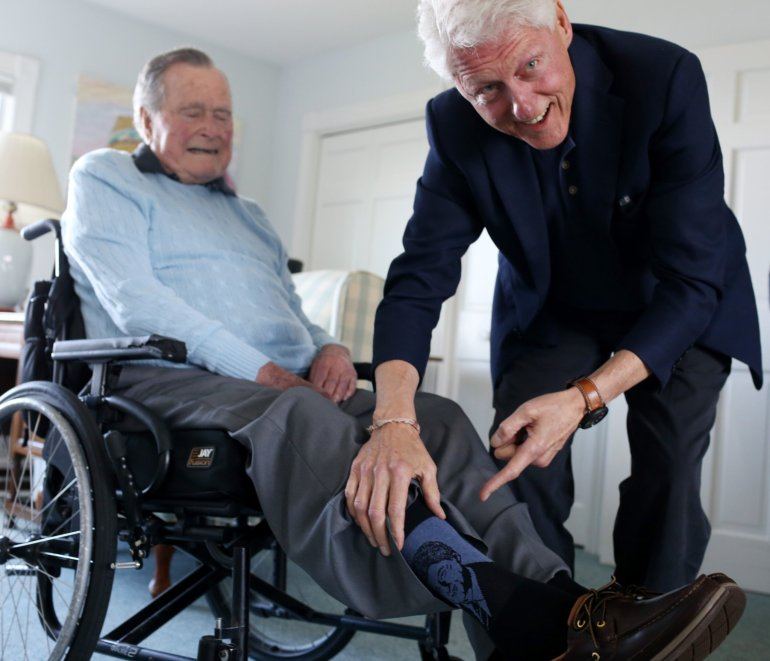 Bush Clinton socks.jpg