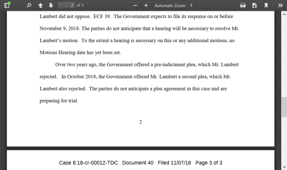 Lambert refused two plea deals doc.png