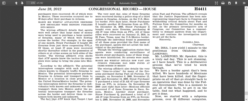 Blanco 235 Issa letter Cong Rec.png