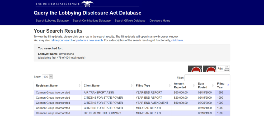 Keene lobbyist record data base.png
