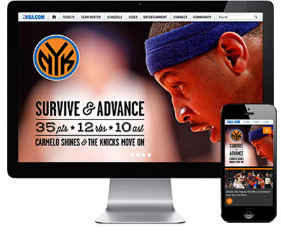 - New York Knicks / Website