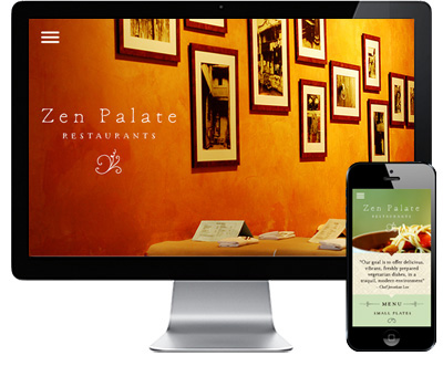 - Zen Palate Restaurants / Website