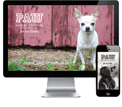 - PAW / E-commerce Business Concept