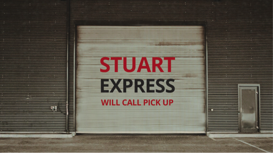 IT'S A SNAP - • Give us a ring for what you need.• Swing by to pick up your stuff at the can't-miss Stuart Express Sign.