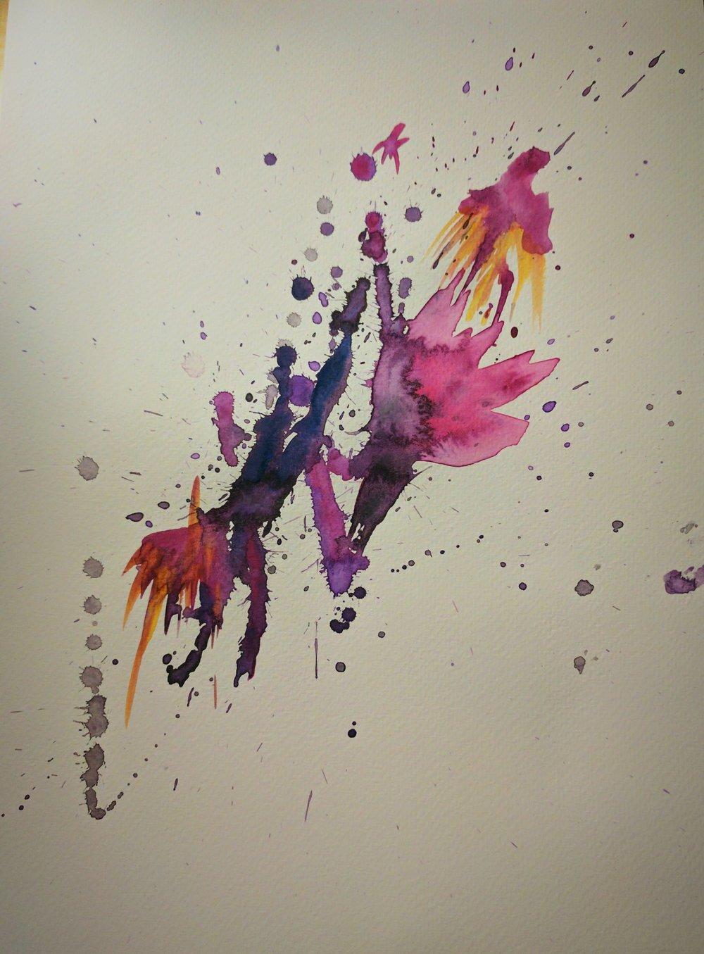 Splatter Study I