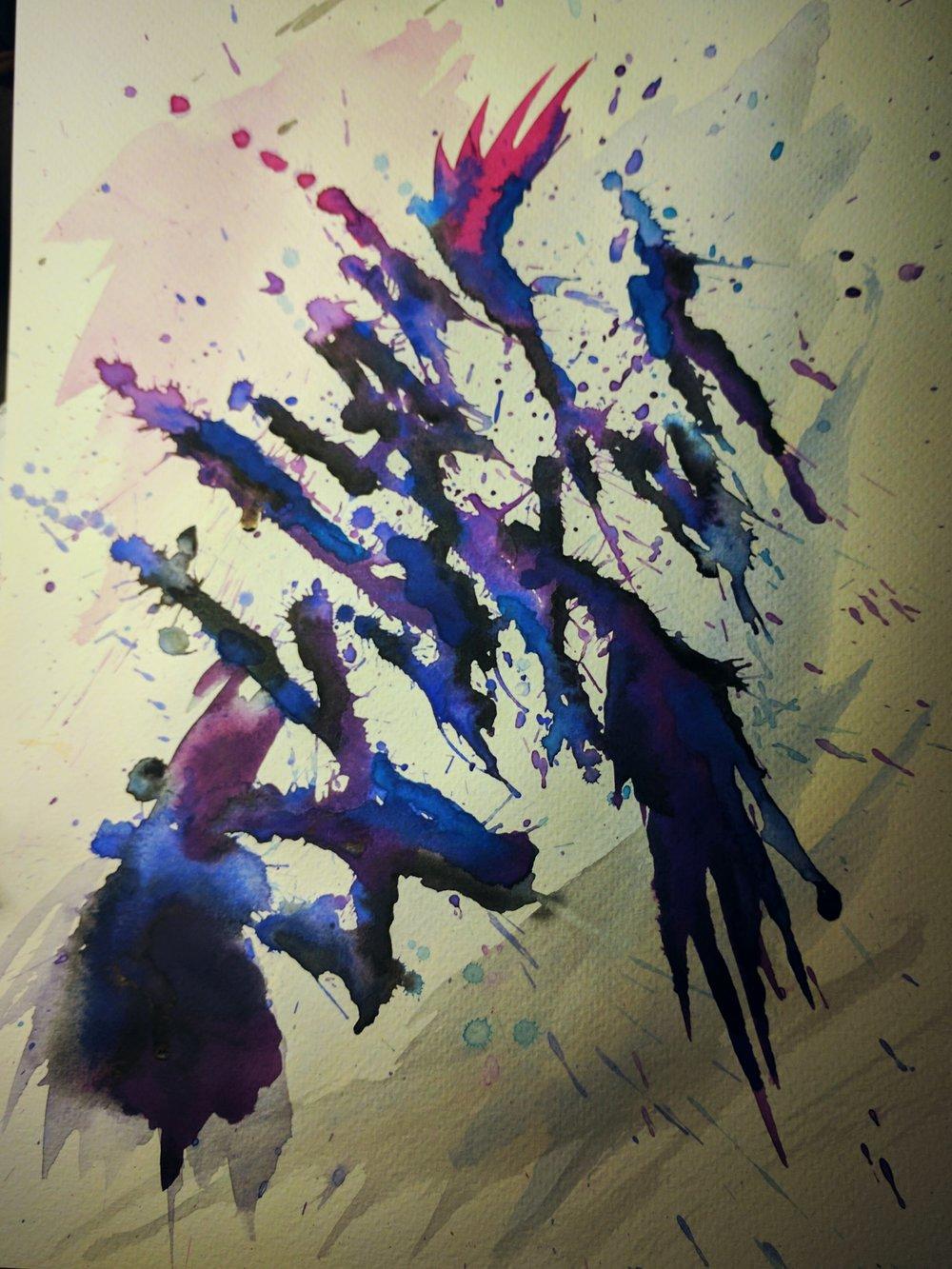 Splatter Study IV
