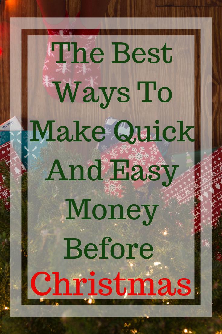 easy christmas money