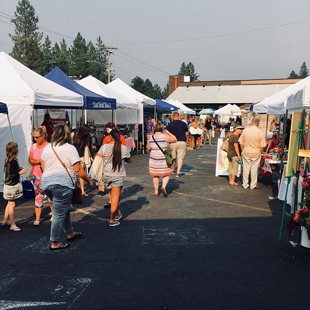 Thanks to everyone who braved the smoke today at the Fairwood Farmers Market! We appreciate you ALL!