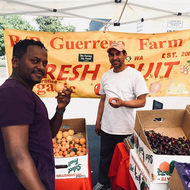 Thank you to everyone who joined us at the  @emersongarfieldmarket today! Meet us here next Friday on 2310 N Monroe from 3-7pm.