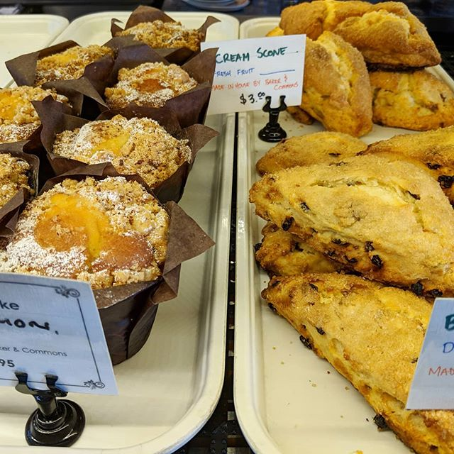 Happy New Year! We are open today! Come get some delicious baked goods made right here by @bakerandcommons