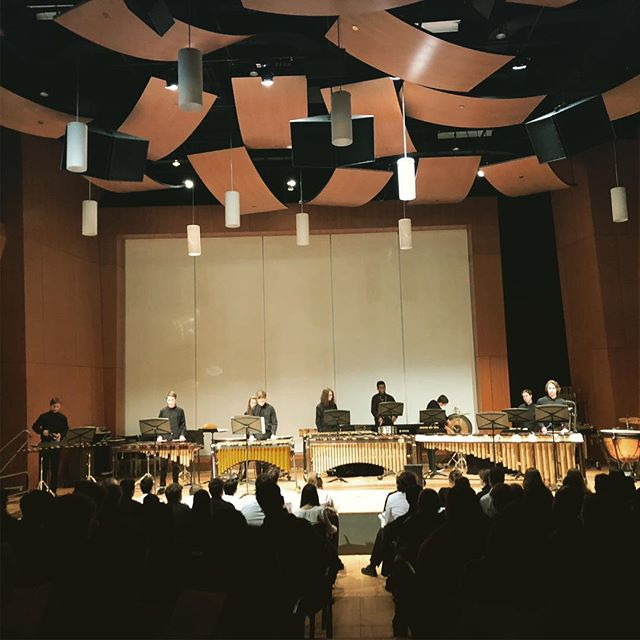 Congrats to the ERHS Percussion Ensemble on a great performance at the MacPhail Percussion Showcase.