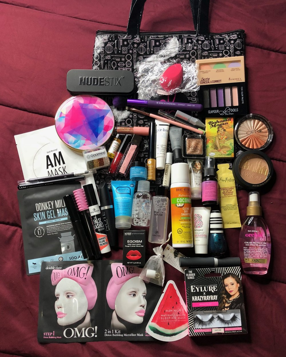 Gen Beauty Attendee Swag Bag