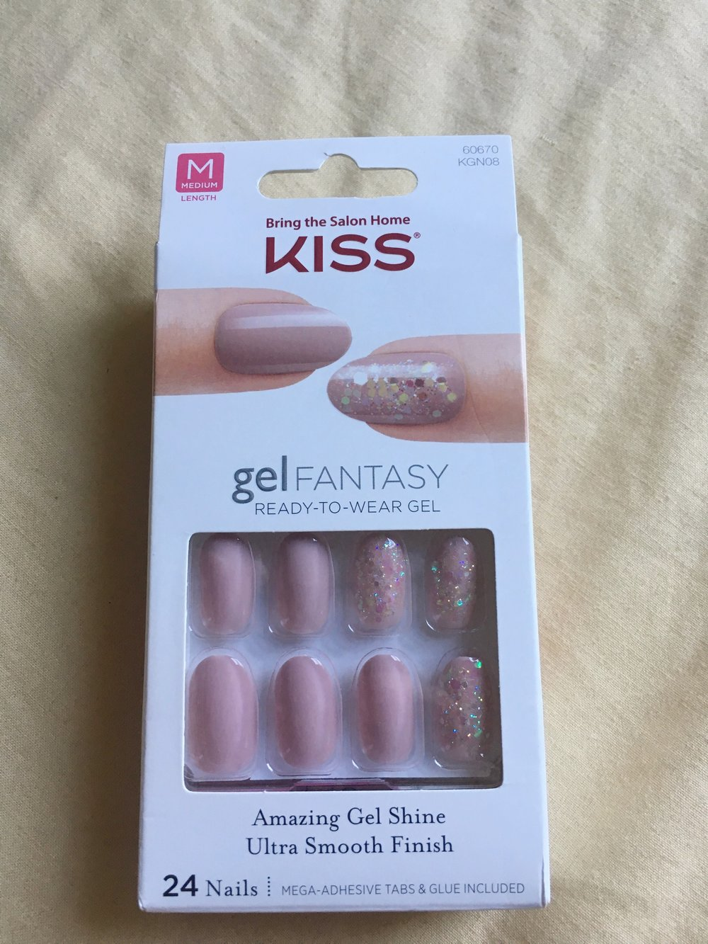 Kiss Gel Fantasy Nails Review — itzLORi
