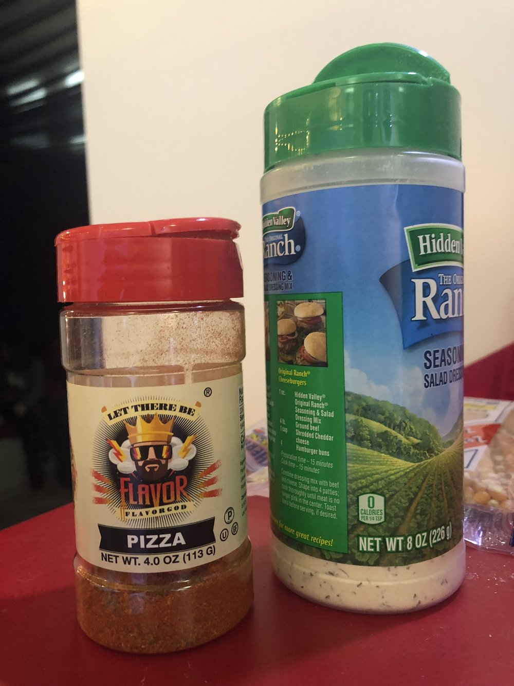 Spotted: Flavor God Pizza seasoning