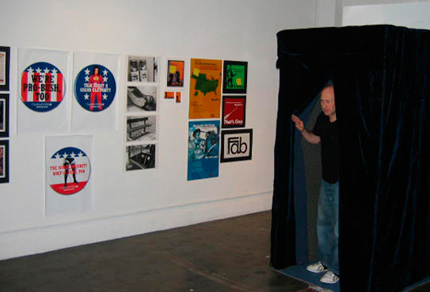 Bush Booth at One Club Gallery, NYC  -