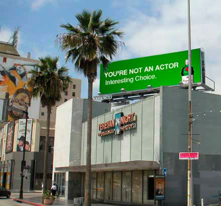 Los Angeles billboard