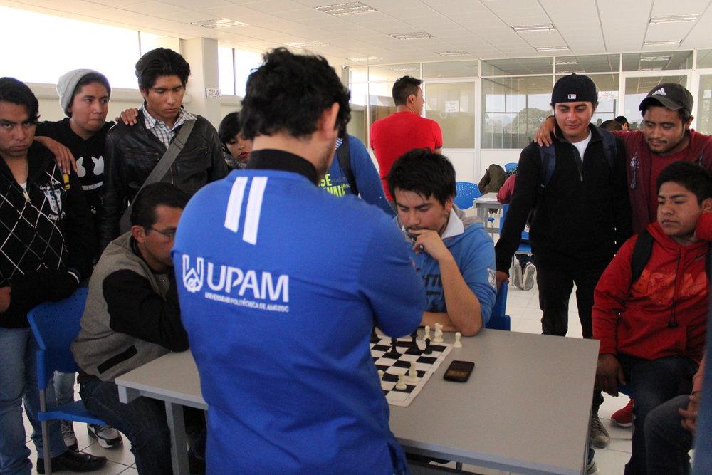 Formación Integral - Primer Torneo de Ajedrez y Atletismo en la UPAM.