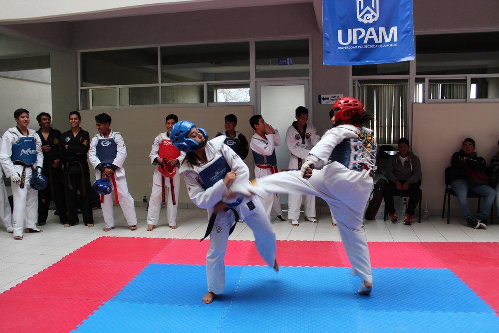 Formación Integral - Demostración de Taekwondo