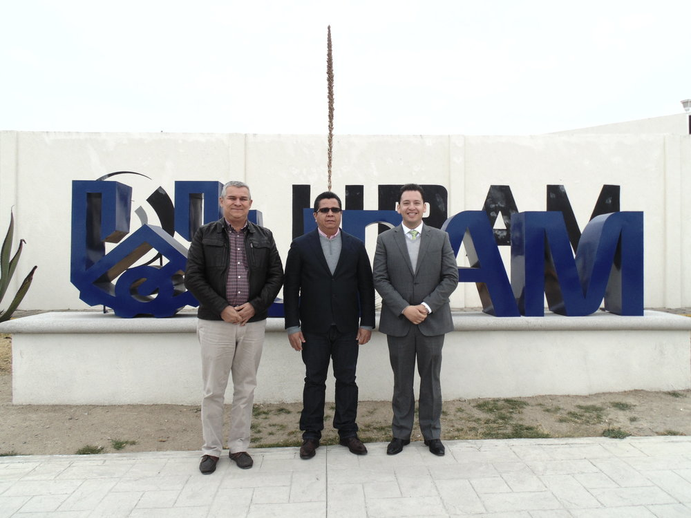 Vinculación - Visita del Dr. Jairo Miguel; Rector de la Universidad de Córdoba Colombia a la UPAM