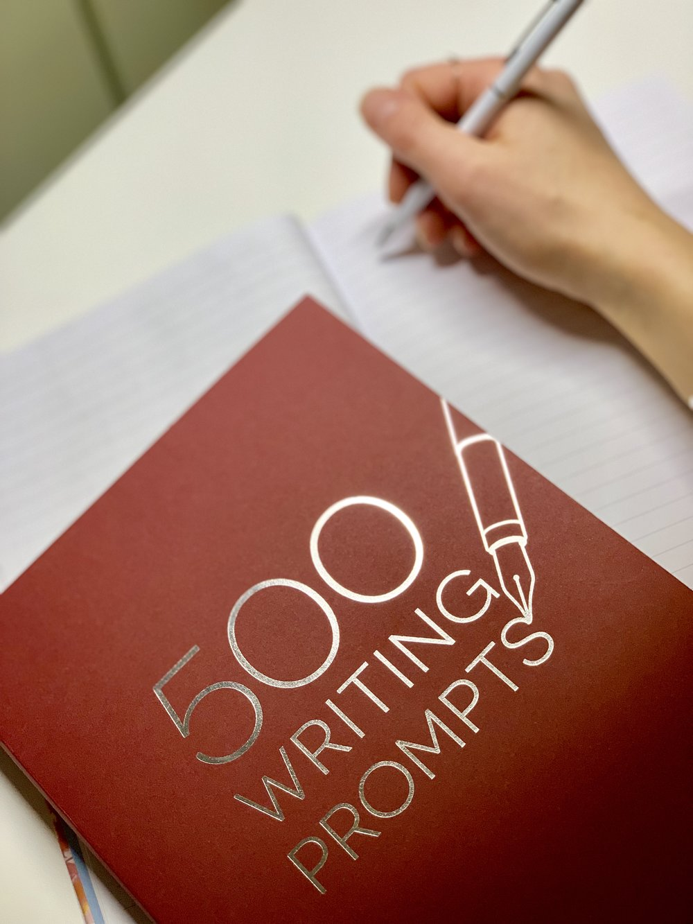 500 writing prompts notebook (From Chapters/ Indigo)