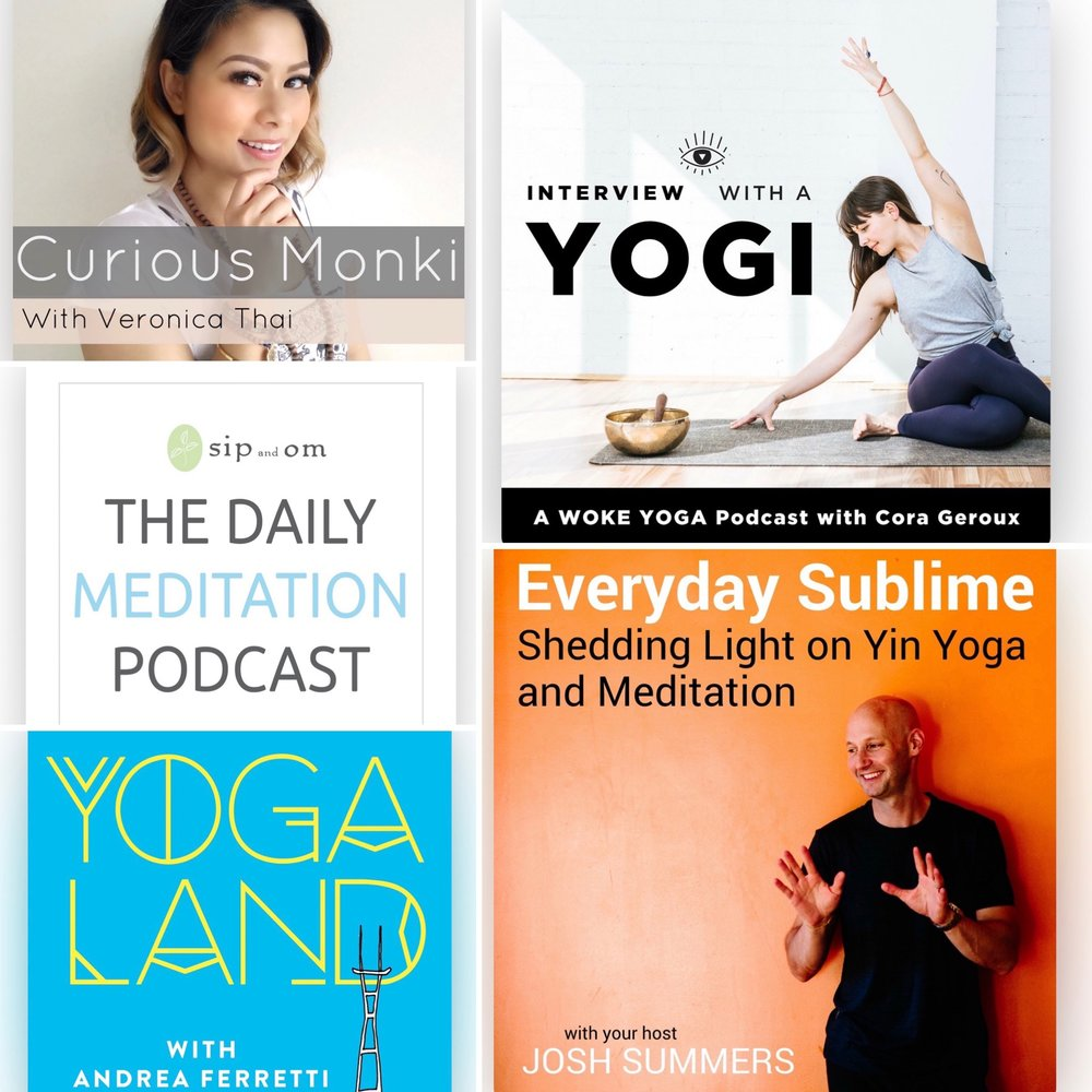 Marzena's top 5 yoga 2019 podcasts