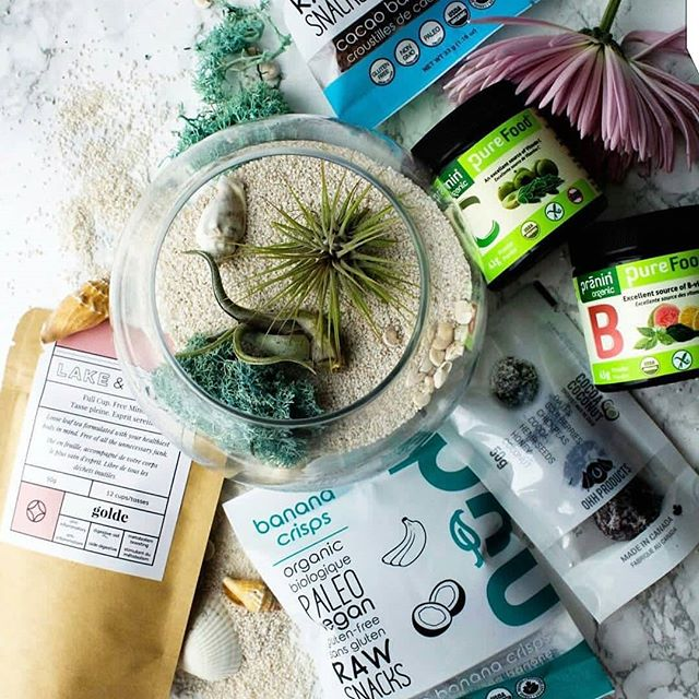 $200 SPRING STAY-CATION GIVEAWAY  To celebrate a little self-care this spring, we've partnered with some amazing local, organic + plant-forward brands with an amazing bundle of goodness! TO ENTER:  1. Double tap this photo  2. Follow @lakeandoaktea @succuterra_canada @nudfud @praninorganic @ohhproducts  3. Comment your favourite way to #treatyourself and tag your fellow wellness fiends.  GIFT INCLUDES: The full line of organic loose leaf teas from @lakeandoaktea ($50), A gorgeous beach-inspired terrarium from @succuterra_canada ($55+), A delicious assortment of @nudfud raw crackers and banana crisps ($35+), Energizing Pure Food vitamins B + C from @praninorganic ($70+) and Tasty Cocoa Coconut Bites from @ohhproducts. Winners announced Thursday, April 26th. Canadian residents only. Good luck!
