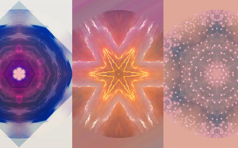 Cards: Moon Orb/FAITH, Electric Field/POWER, Pretty Lights/GRATITUDE