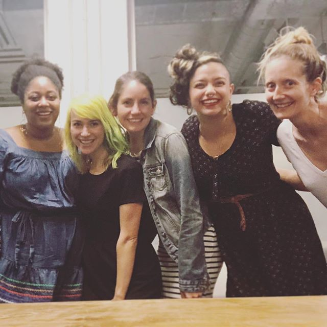 A raw capture of last night's monthly gathering in SF ✨ Thanks to @badasswomenphotos for getting this priceless shot and the beautiful women who showed up... and @biancabarela & @saintfrancie holding the space 💕🙏💗 so much gratitude! . . . #womenofwords #womenwhowrite #writersofinstagram #womenwriters #womenpoets #tribe #voice #expression #creativity #flow #SF #BayArea