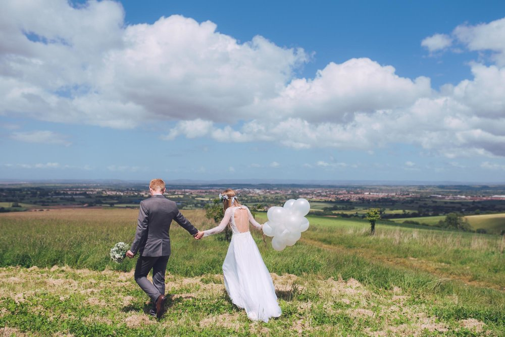 Weddings - Huntstile is magical place set in ancient hills, the perfect way to celebrate your wedding