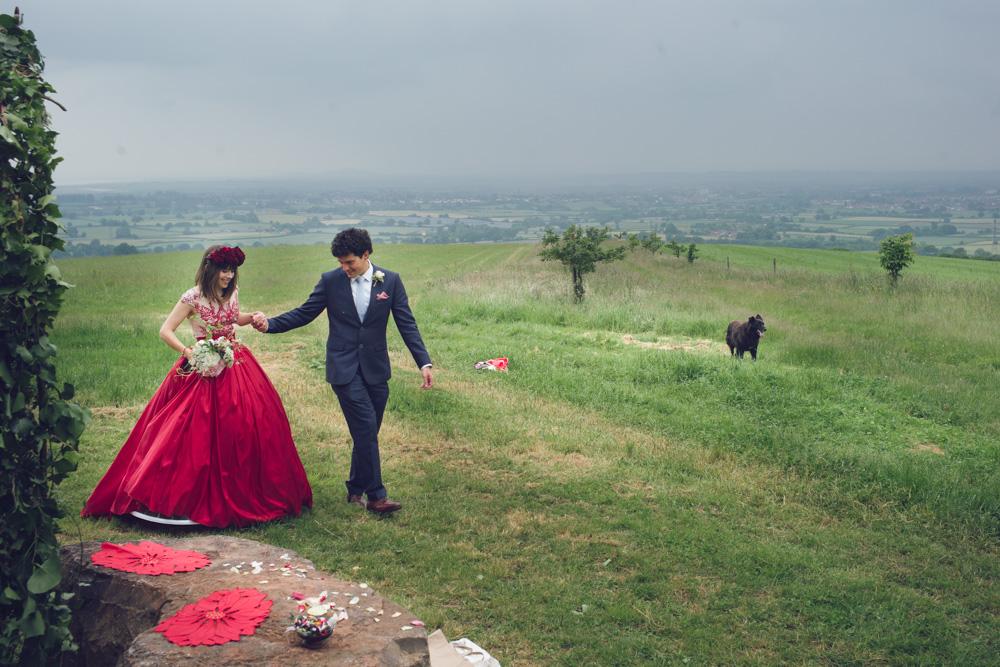 Sophie & Mike Wedding at Huntstile Farm