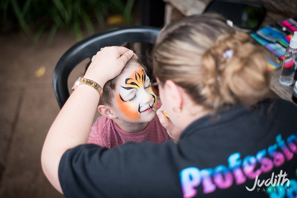 Huntstile Farm Open Day Face Painting