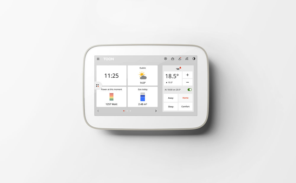 Smart home - Connect smart devices to Toon such as smoke detectors, smart plugs, lighting, and even your solar panels. Set personalized triggs with the Triggi app and enjoy the many benefits of smart living