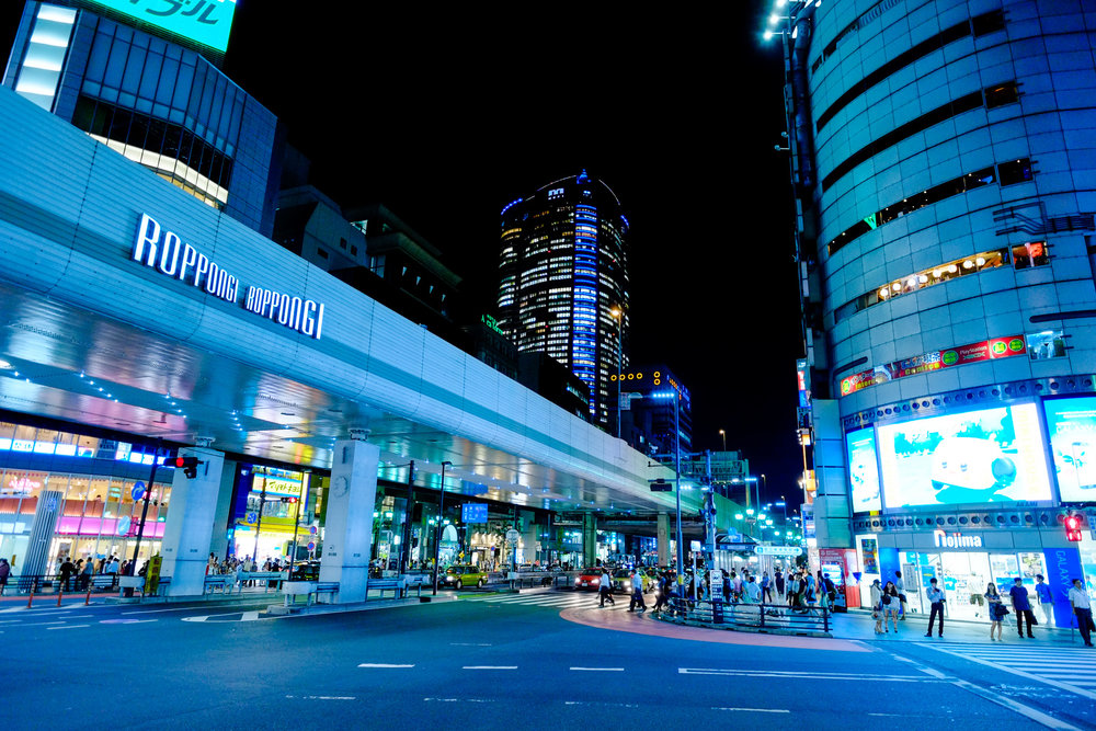 Fujifilm X-Pro1 - 14mm f/2.8 - 1/135 - f/2.8 - iso1600 Before going to Tokyo I had this image in my mind of an ultra modern sci-fi city but that turned out to be an incorrect assumption. But technology definitely plays a part in Tokyo and so I needed some images that show that it is a modern city.