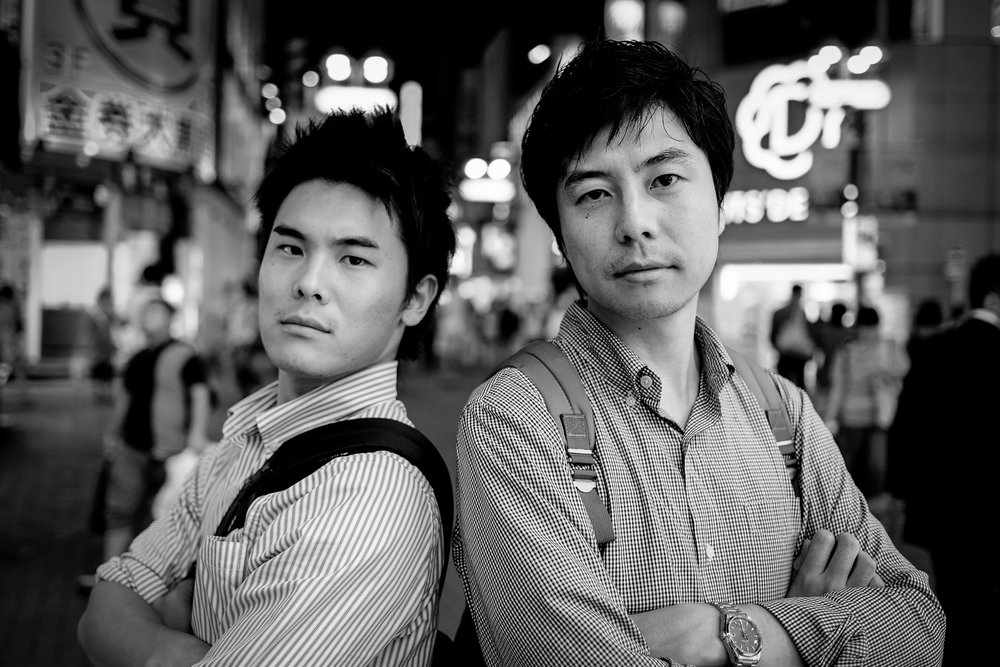 Fujifilm X-M1 - 23mm f/1.4 - 1/200 - f/1.4 - iso400 Thank you Yuto and Yuta to show us around and becoming friends for life. If you are ever in Belgium, I'd love to return the favor.