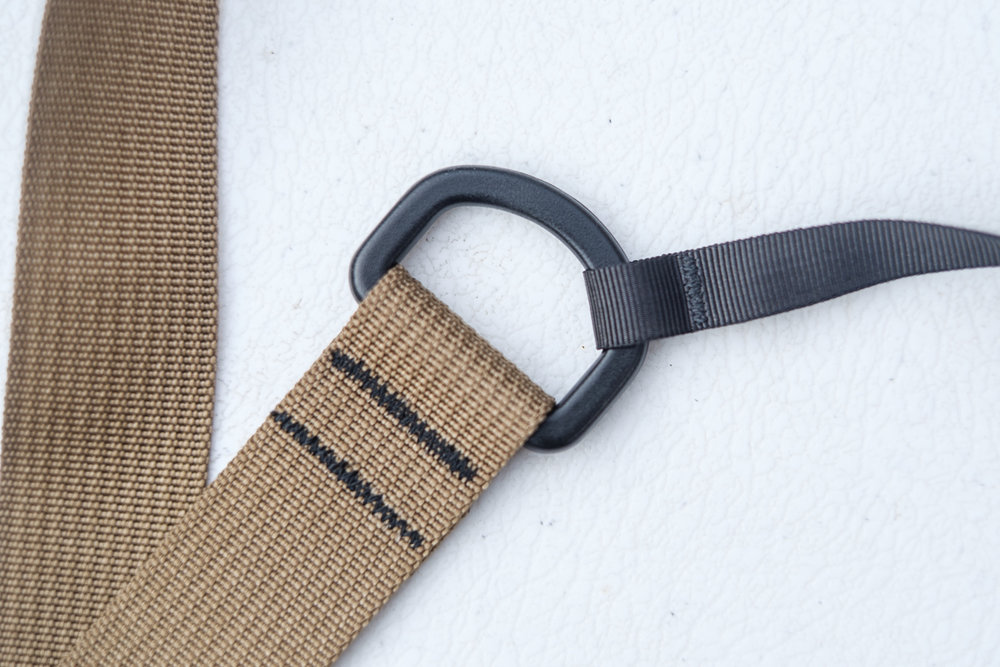 Only time will tell if this strap is durable enough to deal with every day (ab)use but everything from the stitches to the individual components feels sturdy, yet surprisingly light. The combination of a wider strap with small straps on the D-rings makes the camera easy to maneuver.