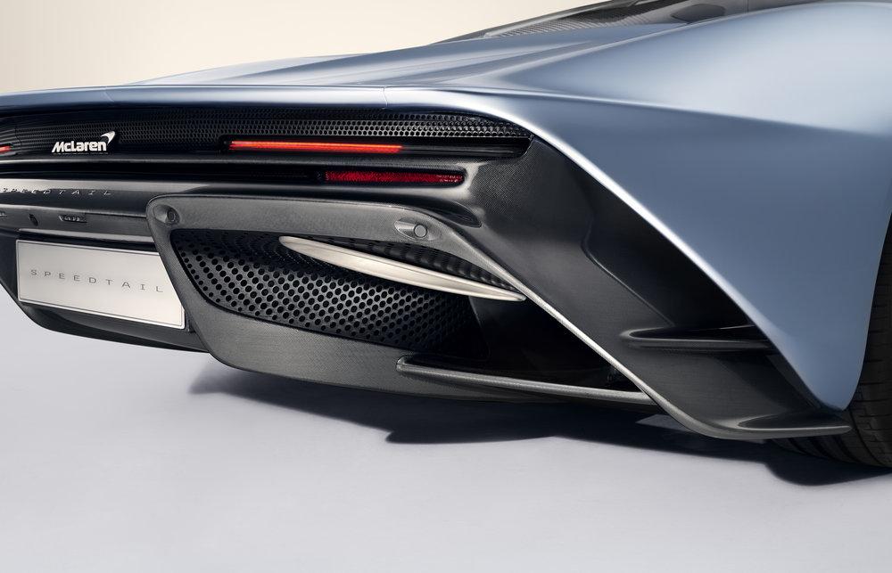 Beautiful lines define the Speedtail.