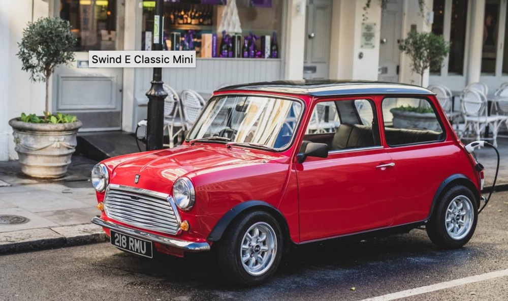 Ideal for the urban environment, the Mini was always great for parking. now it will be clean too.