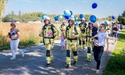 Nieuwsblad - Fortloop kleurt blauw voor Berrefonds
