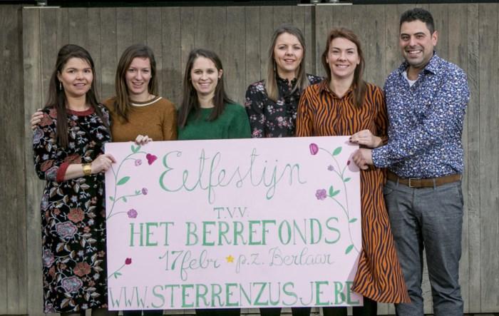 GVA - Koppel organiseert samen met vrienden eetfestijn voor Berrefonds na overlijden dochtertje aan wiegendood