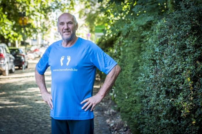 Roger wandelt Dodentocht ter ere van overleden kleindochtertje